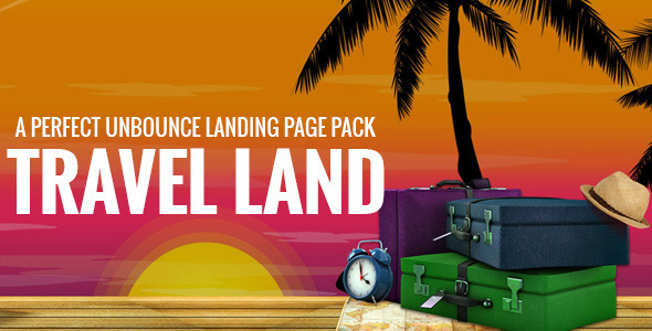 Travel Land - Unbounce Landing Page For Tourism