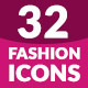 32 Fashion Icon Set