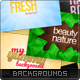 Typographic Backgrounds Set - GraphicRiver Item for Sale