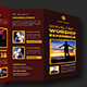 Worship Experience Church Trifold Brochure - GraphicRiver Item for Sale