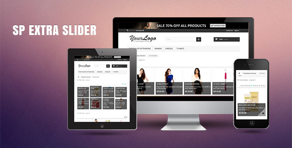 SP Extra Slider - Responsive Prestashop Module - CodeCanyon Item for Sale