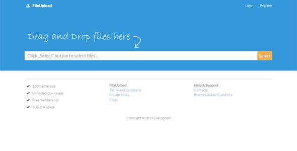 FileUpload - CodeCanyon Item for Sale