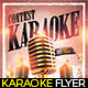 Karaoke Contest Flyer - GraphicRiver Item for Sale