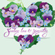Heart Shape Made of Flowers - GraphicRiver Item for Sale