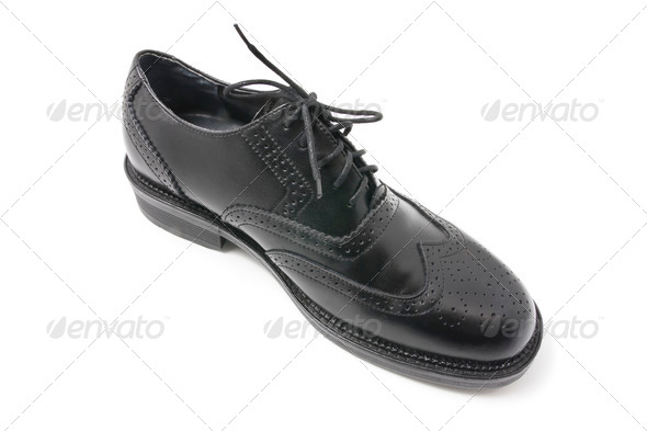 Men's Shoe - Stock Photo - Images