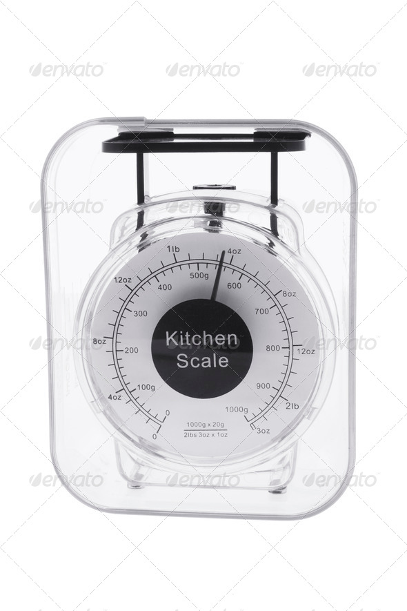 Kitchen Scale - Stock Photo - Images