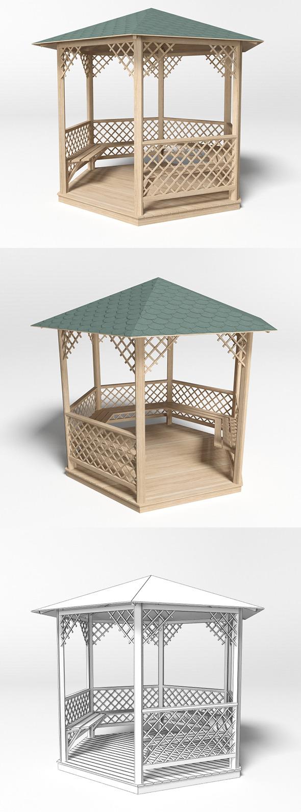 Gazebo 1 - 3DOcean Item for Sale