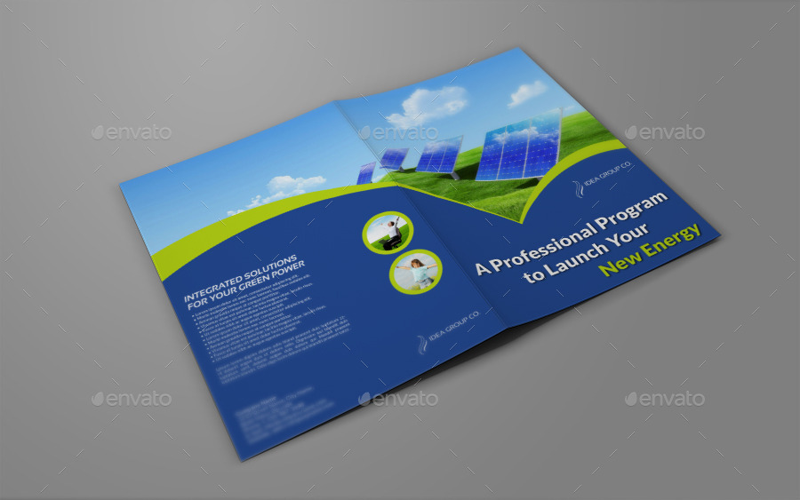 Green Energy Company Brochure Bi-Fold Template V.2 by OWPictures ...