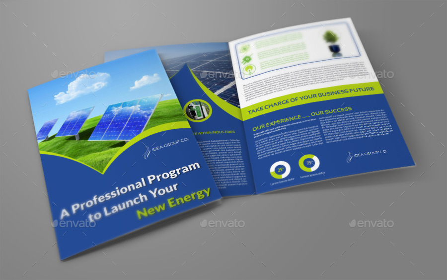 2 Fold Brochure Template Selol Ink