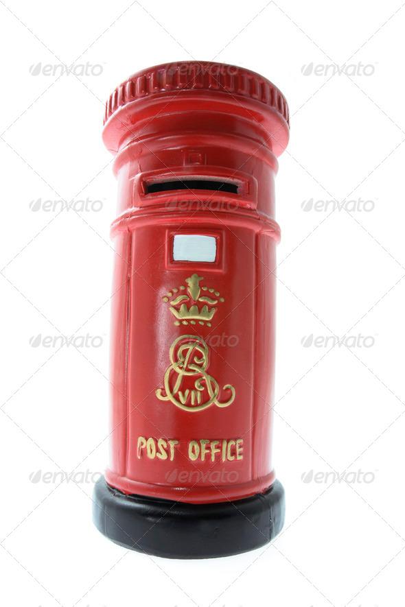 Miniature Post Box - Stock Photo - Images
