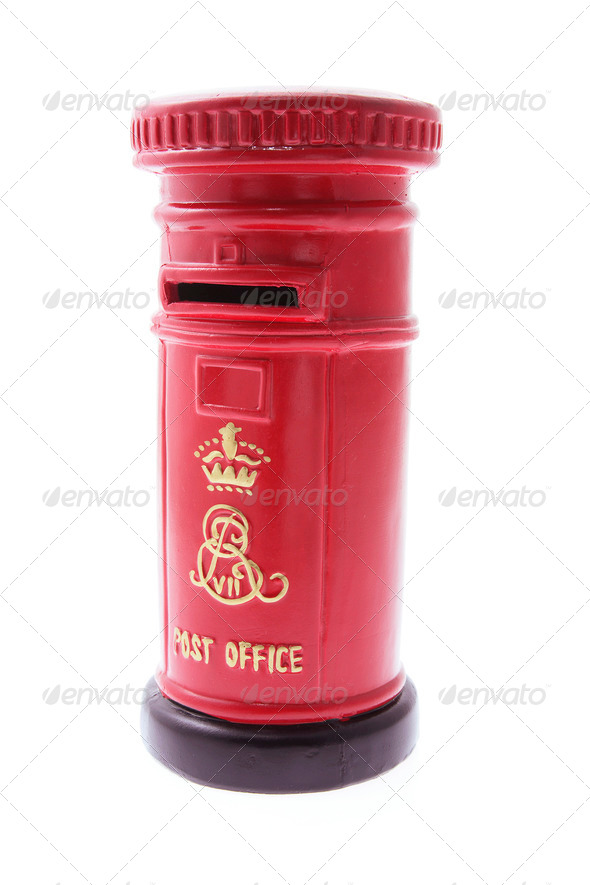 Miniature Post Box - Stock Photo - Images