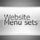 ClearStyle menu sets - GraphicRiver Item for Sale