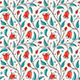 Seamless Bellflower Pattern - GraphicRiver Item for Sale