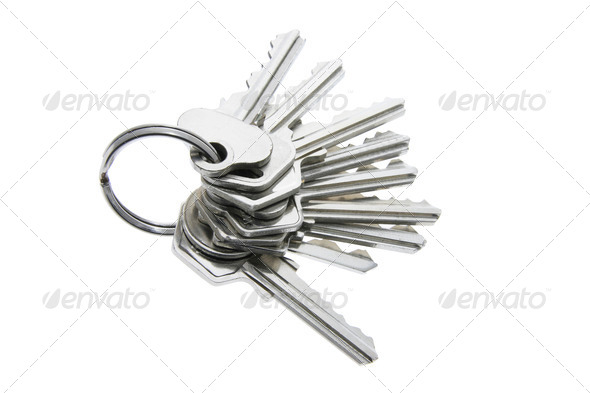 A Bunch of Keys - Stock Photo - Images