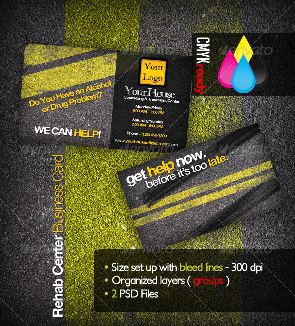 rehabilitation business card - Business Cards For Sale
