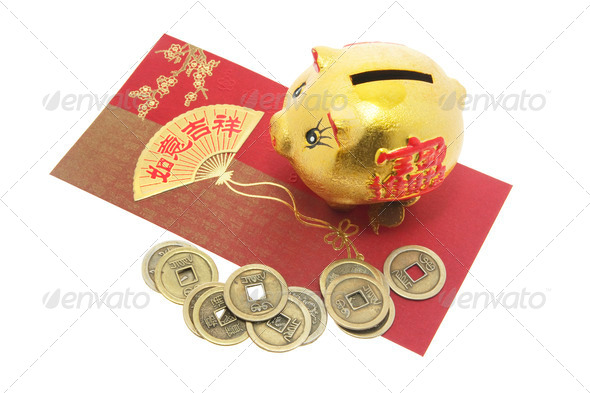 Chinese New Year Products - Stock Photo - Images