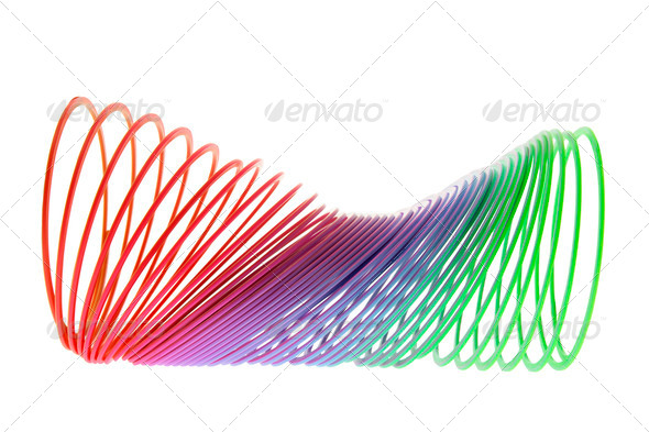 Slinky Toy - Stock Photo - Images