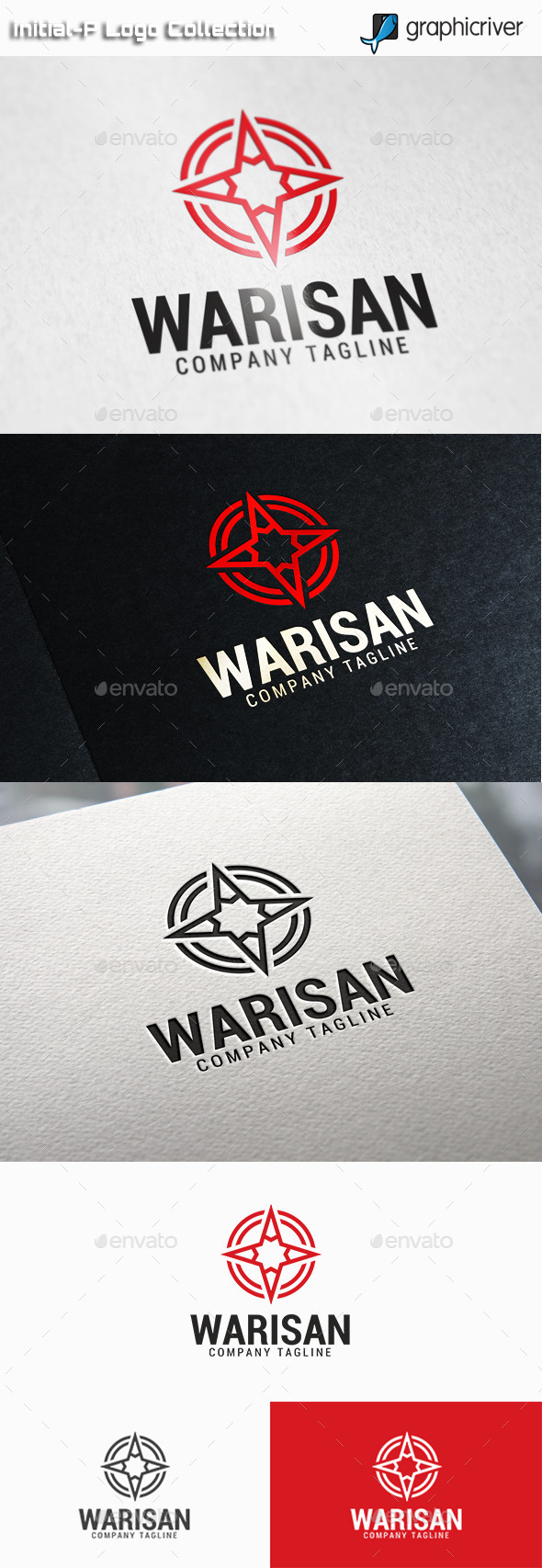 Warisan - Star Circle Logo