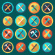 Tool Icons  - GraphicRiver Item for Sale