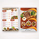 Food Menu Flyer - GraphicRiver Item for Sale