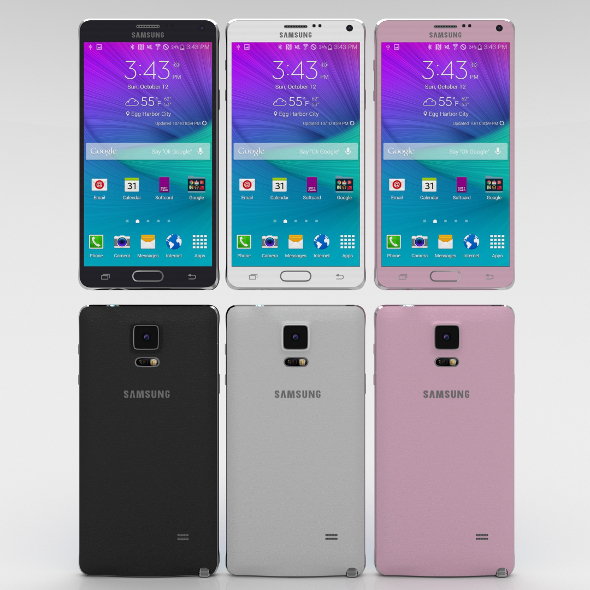 Samsung Galaxy Note 4 Pack - 3DOcean Item for Sale