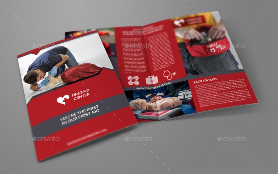 First aid brochure bi fold template by owpictures graphicriver first aid brochure bi fold template maxwellsz