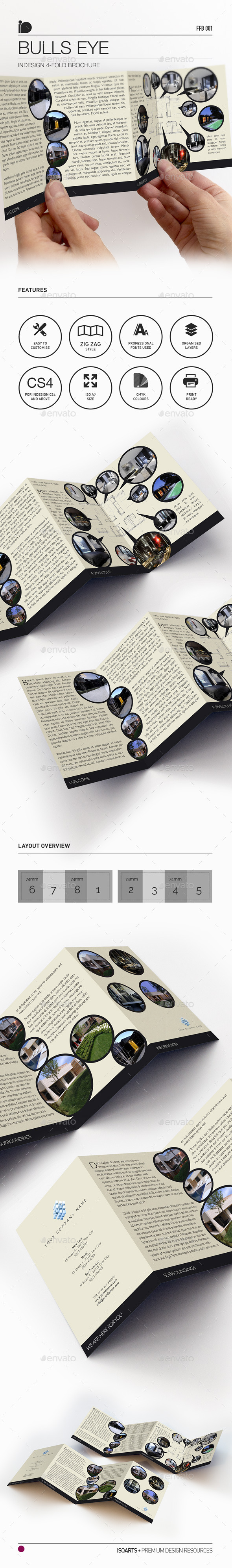 4-Fold Brochure • Bulls Eye - Corporate Brochures