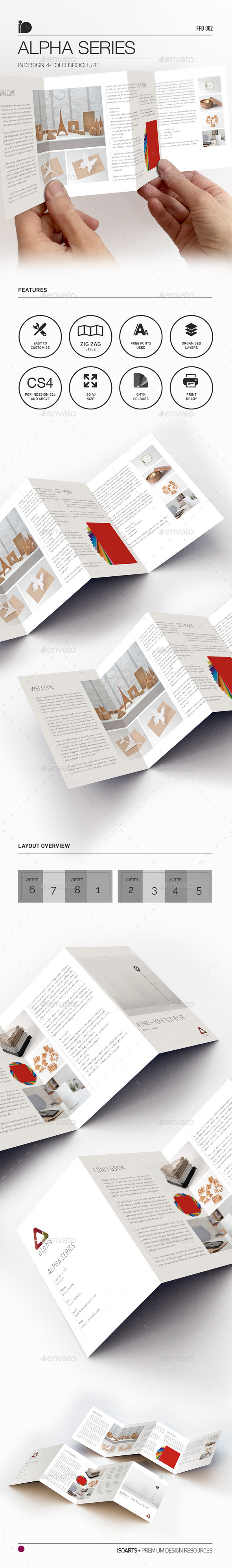 4-Fold Brochure • Alpha Series - Corporate Flyers