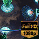 Gardens By the Bay Nightscape - VideoHive Item for Sale