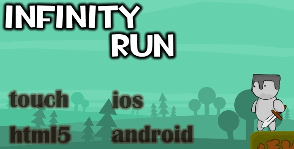 Infinity run - html5 Mobile game (capx) - CodeCanyon Item for Sale