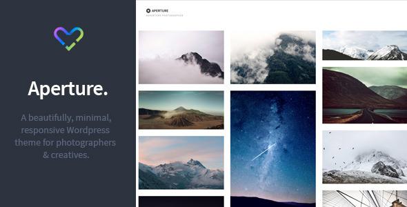Aperture – Responsive Photography WordPress Theme