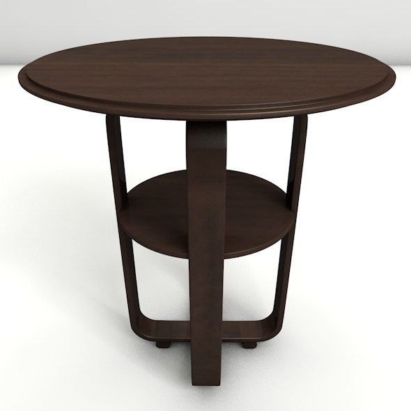 Round Coffee Table - 3DOcean Item for Sale