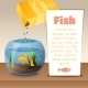Goldfish in a Bowl. - GraphicRiver Item for Sale