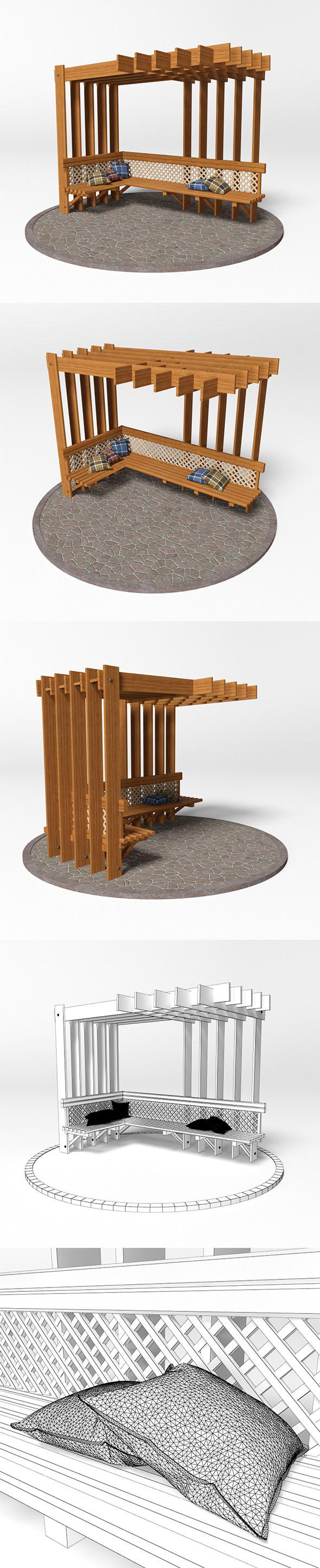 Gazebo 15 - 3DOcean Item for Sale