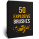 50 Explosion Brushes - GraphicRiver Item for Sale