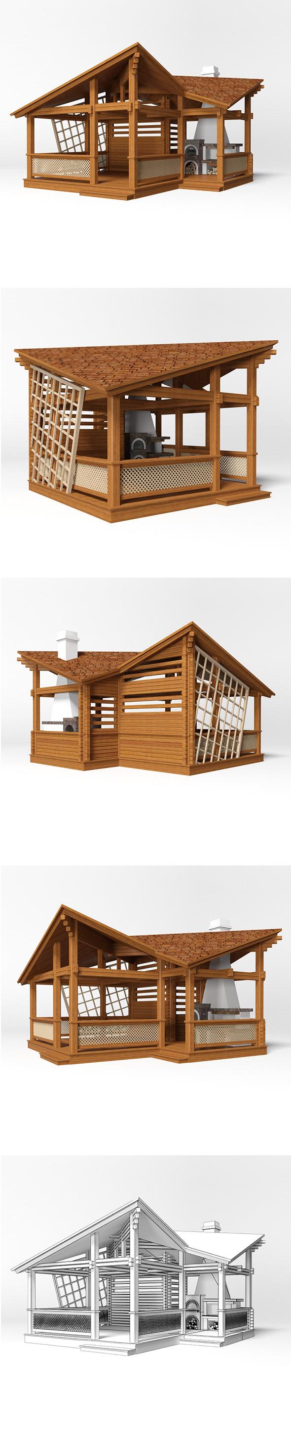 Gazebo 17 - 3DOcean Item for Sale