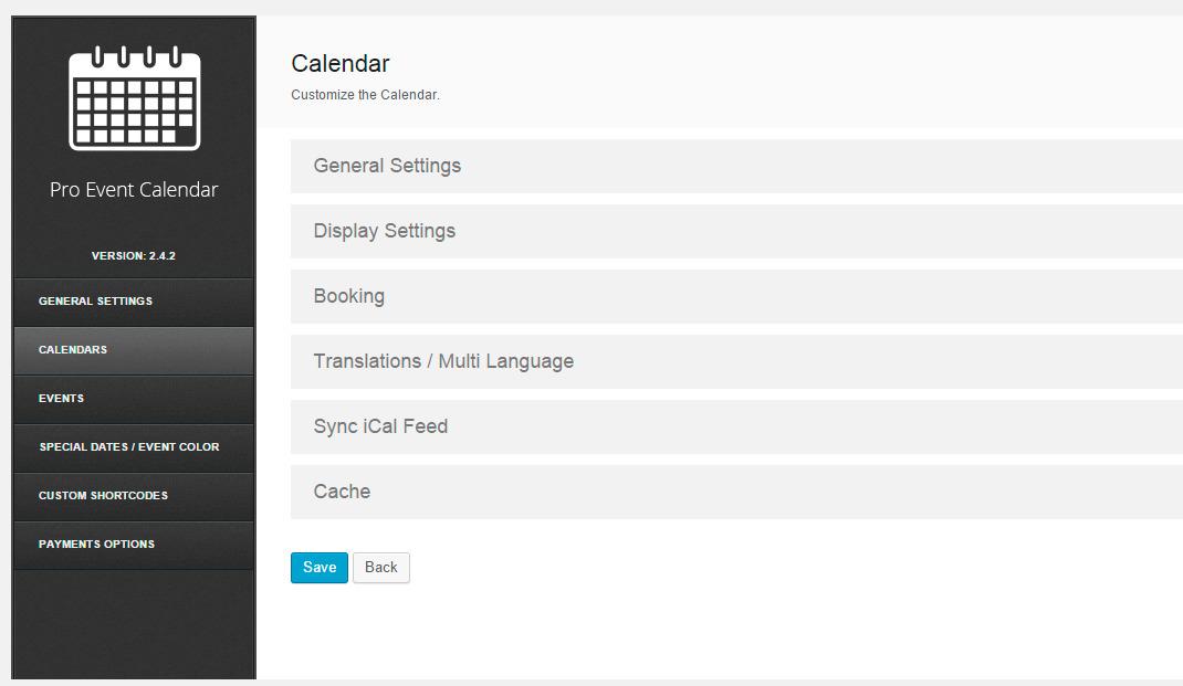 event calendar pro license key