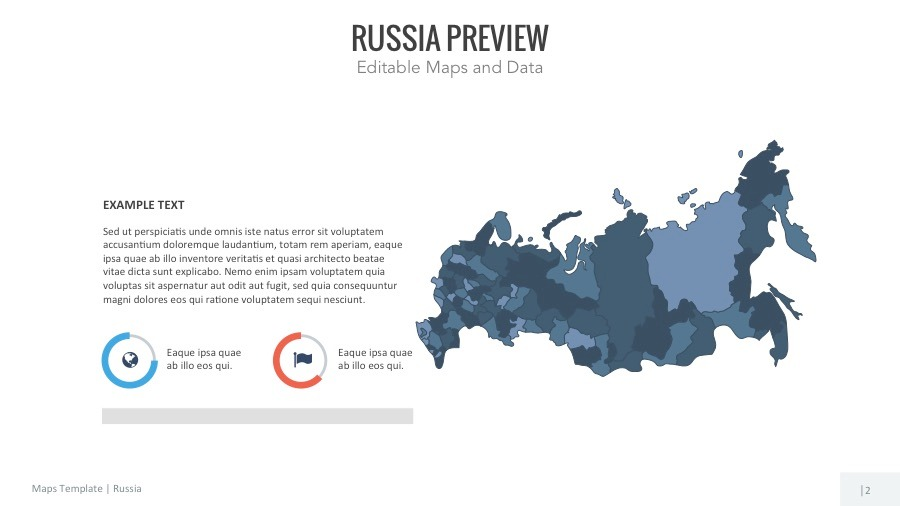 Russia map editable map presentation by slidekingdom graphicriver imagerussia maps16 9 hddefaultslide01g toneelgroepblik Choice Image