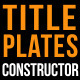 Title Plates - VideoHive Item for Sale