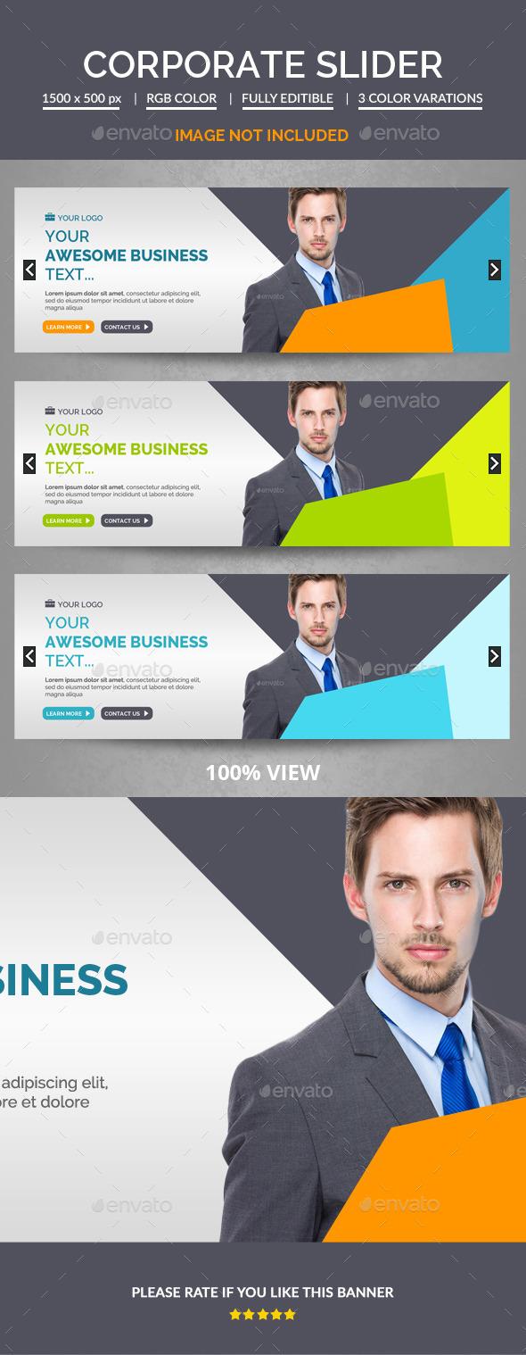 Corporate Slider  - Sliders & Features Web Elements