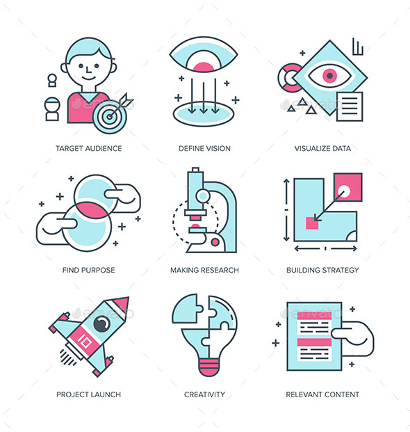 Create Brand Icons - Business Icons