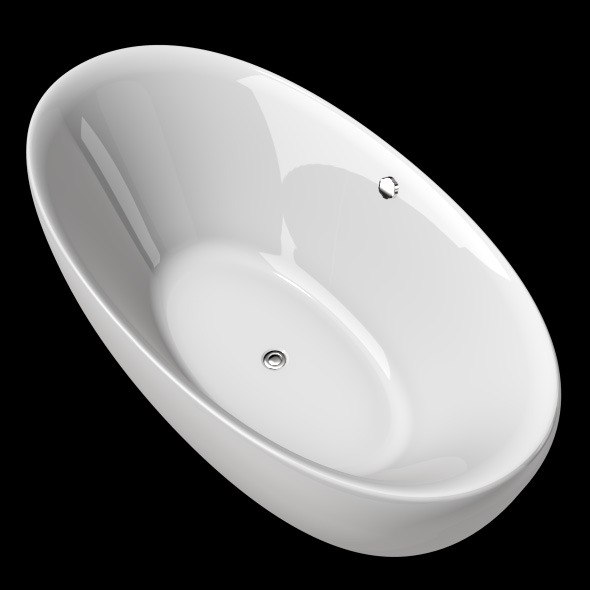 Freestanding, Modern Bathtub_No_12 - 3DOcean Item for Sale