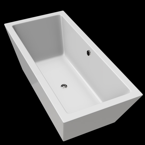 Freestanding, Modern Bathtub_No_15 - 3DOcean Item for Sale