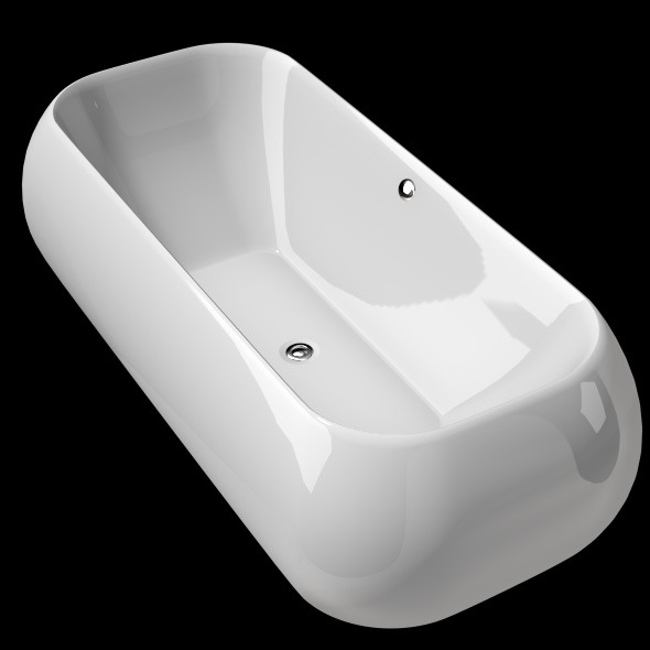 Freestanding, Modern Bathtub_No_19 - 3DOcean Item for Sale