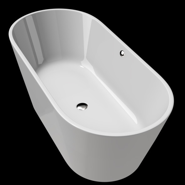 Freestanding, Modern Bathtub_No_23 - 3DOcean Item for Sale