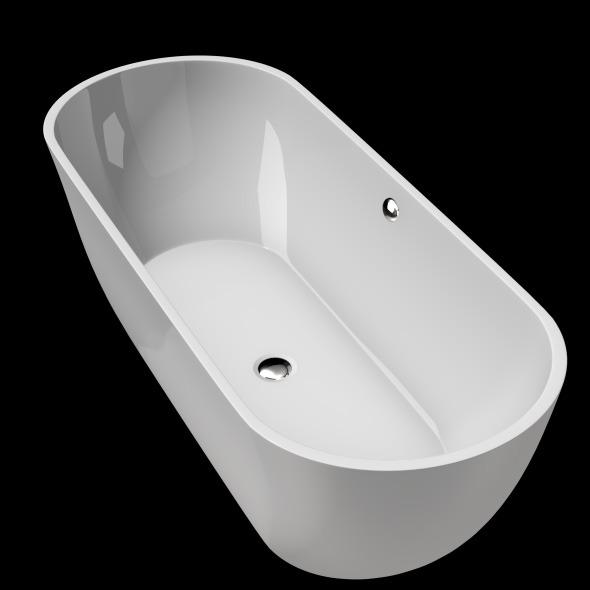 Freestanding, Modern Bathtub_No_24 - 3DOcean Item for Sale