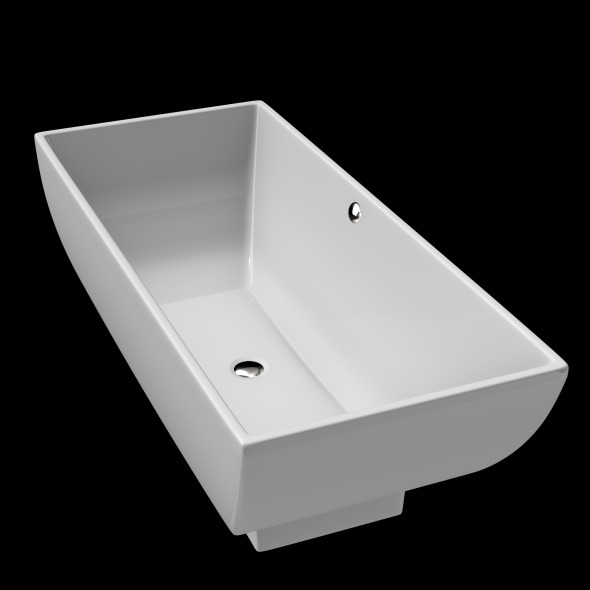 Freestanding, Modern Bathtub_No_25 - 3DOcean Item for Sale