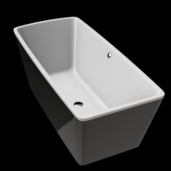 Freestanding, Modern Bathtub_No_26 - 3DOcean Item for Sale