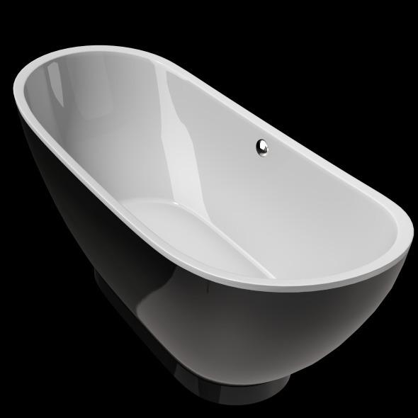 Freestanding, Modern Bathtub_No_27 - 3DOcean Item for Sale