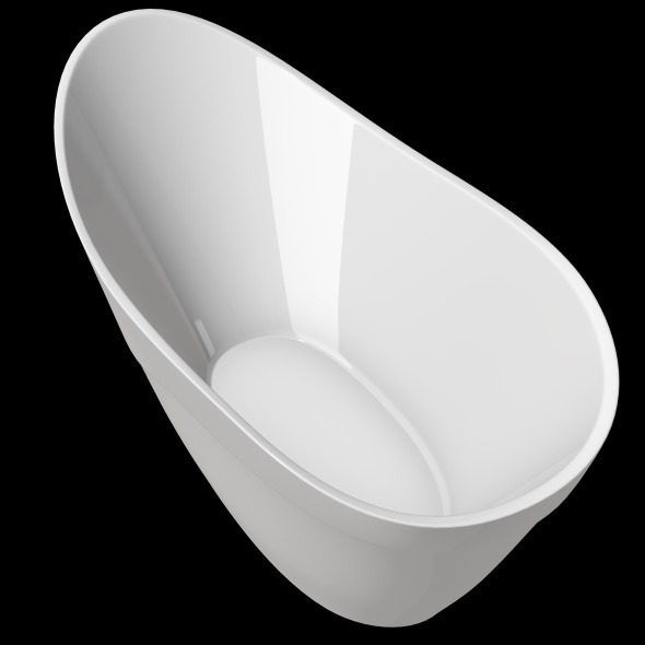 Freestanding, Modern Bathtub_No_32 - 3DOcean Item for Sale